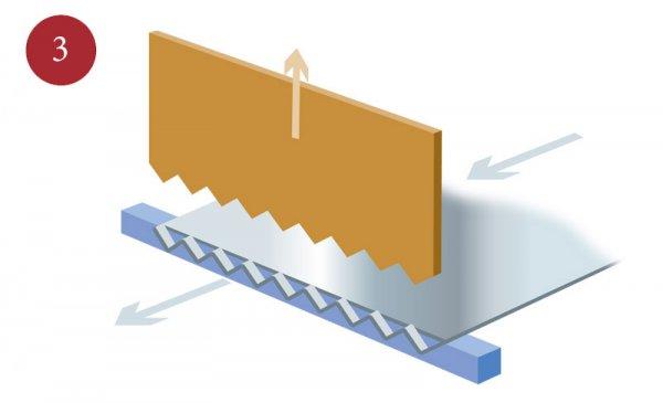 Tillverkning av sträckmetall steg 3