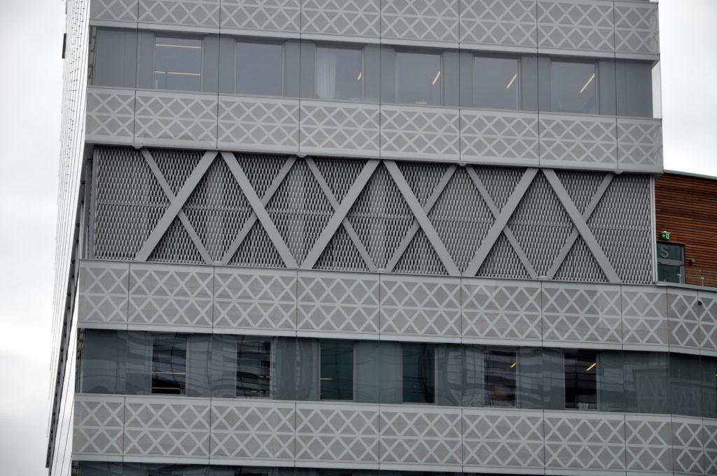 Expandermetall - Fasad SEB