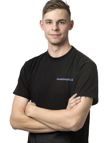 Rasmus Holmberg - Anställd i produktionen på Expandermetall